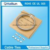 304 L de acero tipo clips de las bandas con la UL