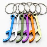 Kundenspezifischer schöner anodisierter Farben-Metallbierflasche-Öffner Keychain