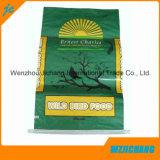 Película BOPP impresión bolsas tejidas PP de arroz