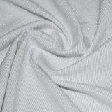 Algodón / poliéster / Lurex raya Jersey para ropa