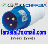3p 6h IP44 32A Cee / IEC PP / PA Económica Plug Industrial