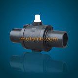 Vávulas de bola estándar para la instalación de tuberías del PE