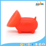 Vente en gros OEM Design Pig Shaped Cute Silicone Sucker Phone Holder