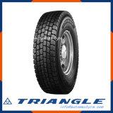 Precio Newpattern de la garantía de Quatity del triángulo Trd06 buen todo el neumático radial de acero del carro de la venta al por mayor del neumático
