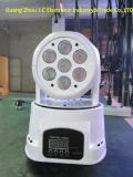 Hot Sale 7PCS * 10W RGBW Mini LED tête de tête mobile