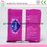 Serviette hygiénique somnolente remplaçable de femmes de qualité