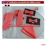 Skinny Slim Tie Cravate de mariage en tissu tissé Jacquard en soie en couleur unie en soie et en soie (B8060)
