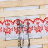 Nuovo merletto di immaginazione della guarnizione del ricamo del poliestere del merletto di T/C del ricamo di larghezza del commercio all'ingrosso 5cm delle azione della fabbrica di disegno per l'accessorio degli indumenti & tessile & tende domestiche