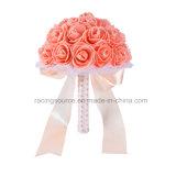 Decoración nupcial de la flor de la boda del ramo de la perla
