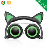 2016 Factory Wholesale Sport Wired Stereo OEM Cat Ear Headphones