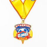 Medaglia di oro di sport del hokey con la sagola
