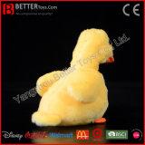 赤ん坊の子供のための現実的なぬいぐるみのプラシ天の黄色のアヒルの柔らかいおもちゃ