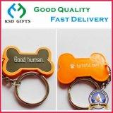 Gute menschlicher Fuss-Art-Förderung-Schlüsselkette mit Schlüsselringen