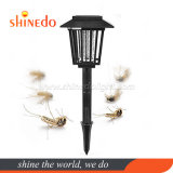 Solar Bug Zapper Outdoor Mosquito Killer Electric Fly Insect Trap Purple Led Light