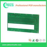 Placa de circuito impressa personalizada com tinta verde.