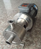 Les mesures sanitaires en acier inoxydable de la pompe haute émulsifiant homogène de cisaillement