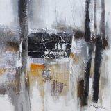 De Kunst van het Olieverfschilderij van het canvas voor de Band van de Saxofoon