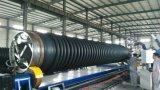 Pipe chaude en plastique d'enroulement de spirale de filament de HDPE