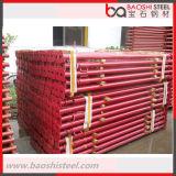 Puder-überzogene Aufbau-Baugerüst-Stützbalken StahlAjustable Stütze
