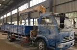 6 wielen 4 van de Telescopische van de Kraan Ton Vrachtwagen van de Lading Opgezet met Kraan XCMG voor de Uitvoer