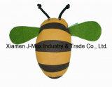 Saco de saco ecológico com bolsa plegável com bolsa 3D, estilo animal de abelha, reutilizável, leve, sacos de supermercado e acessível, promoção, acessórios