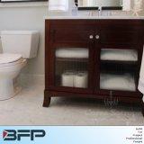 Europäischer klassischer Art-Badezimmer-Eitelkeits-Fall mit Oberseite für Verkauf