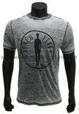 Nuova maglietta di disegno per gli uomini con il Burn-out