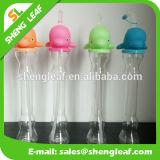 Frasco de água potável para garrafa de água com suco de plástico LED