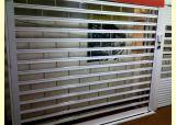 Стекло из поликарбоната вертикальный подъем плоскостей прозрачных поднимите дверь гаража (Гц-TD0616 является присутствующим)