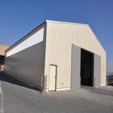Vertientes prefabricadas del granero de poste del metal del marco de acero con el mejor diseño