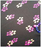 100% полиэстер, малая цветочная печать, жаккардовая ткань