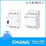 Contactor modular eletromagnético 4p 240V 63A popular com aprovação CE RoHS
