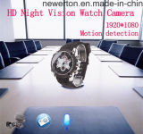 Mini-DVR HD1080p Digitaluhr-Videokamera des IR-NachtVison PC Webcam-