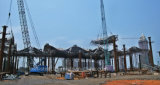 Конференция структуры ферменной конструкции изготовления высокого качества стальные и центр выставки