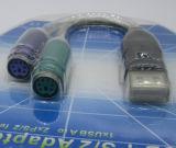USB-PS/2 adaptador hembra a a 2XPS/2 de 1xusb