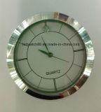 Поощрение аналоговые кварцевые часы мелкие металлические вставки 37мм