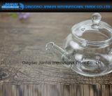 de Duidelijke Pot van de Thee van het Glas 600ml Borosilicate met Glas Infuser