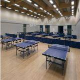 Ittf Certificat en PVC de haute qualité à bas prix à l'intérieur du rouleau de Sports-de-chaussée pour le Tennis de Table d'épaisseur 4,5mm