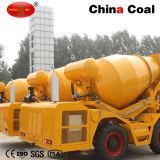 2.5 Cbm de Concrete het Mengen zich Vrachtwagen van de Mixer van de Installatie van de Pomp