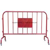 Galvanizado en caliente de alta calidad de la barrera de control de multitudes