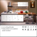 Gabinete de cozinha de alto brilho com resistência à raspagem E1 (ZH-6017)