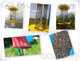 Lampada solare dell'assassino insetto/del parassita utilizzata in azienda agricola, serra, giardino, frutteto