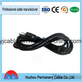 低価格のアメリカULのプラグの拡張パワープラグケーブル3 Pinの電源コード