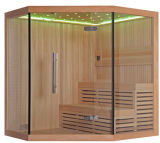Quarto seco de madeira autônomo da sauna do vapor do estilo tradicional de Monalisa (M-6036)