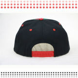 Шлем бейсбола кожи крышки Snapback шлема изготовленный на заказ кожаный