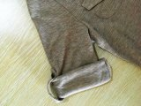Fashionable Slim-Fitting profunda V-Pescoço T-shirt Short-Sleeved Sexy