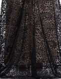 Долго Русалки вечерние платья Sexy Split Celebrity кружевом платье Ппзу Openboot