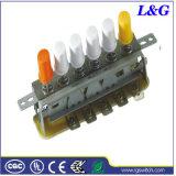 SGS 6 Touche de position du ventilateur électrique Interrupteur à bouton poussoir (3900)