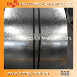 Spangle ordinaire laminé à froid/chaud Toiture en carton ondulé feuille métallique galvanisé à chaud de matériaux de construction de feux de croisement/Galvalume Gi bobines en acier
