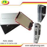 Berceau de disque dur de 2,5 cas Ethernet USB 2.0 avec de grandes PCB
